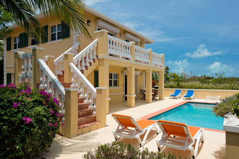 Turks and Caicos Group Vacation is complete with Emerald Shores Guesthouse and Pool