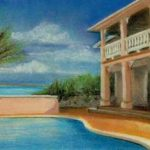 Ellen H Painting of Emerald Shores