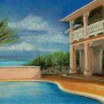 Ellen H Painting of Emerald Shores